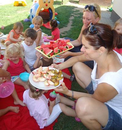 A KiVi-Házban fontos az egészséges étkezés